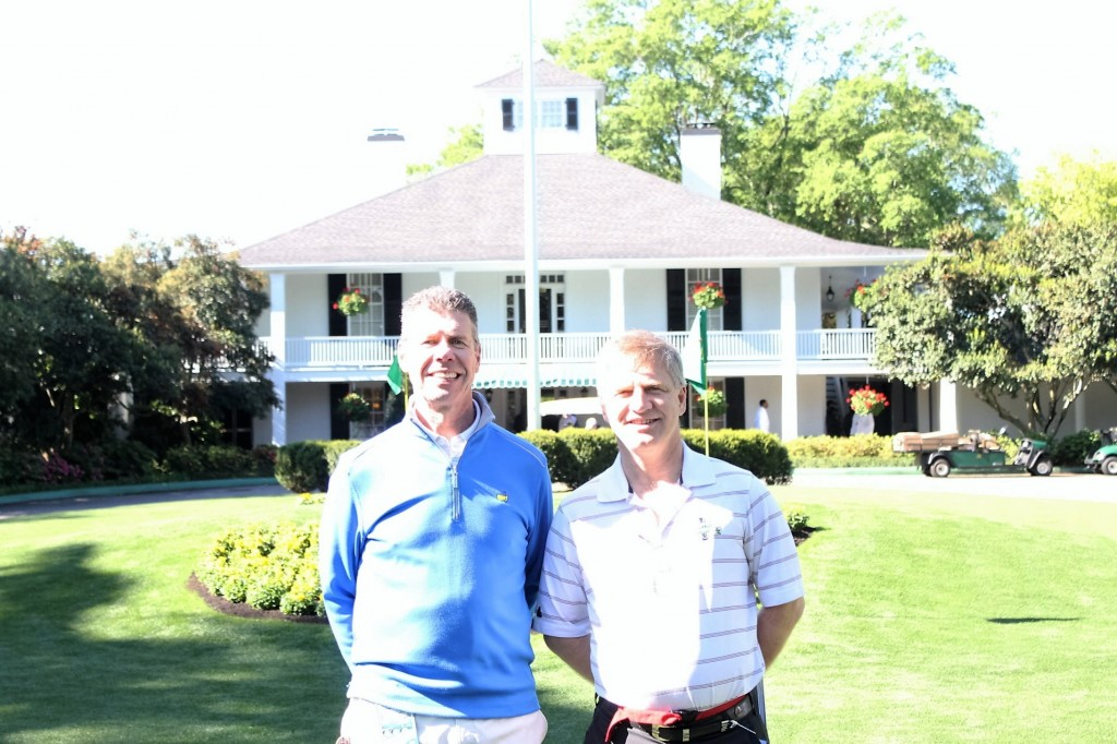 Eric Hjortness, CPA and I at the Masters Tournament in Augusta, GA